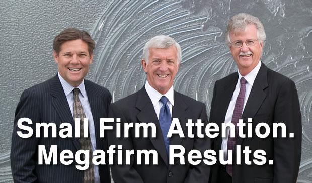 Albro Lundy, Kent Burton and Brad Baker, South Bay attorneys