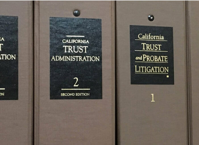 Trust Administration and Probate Litigation books