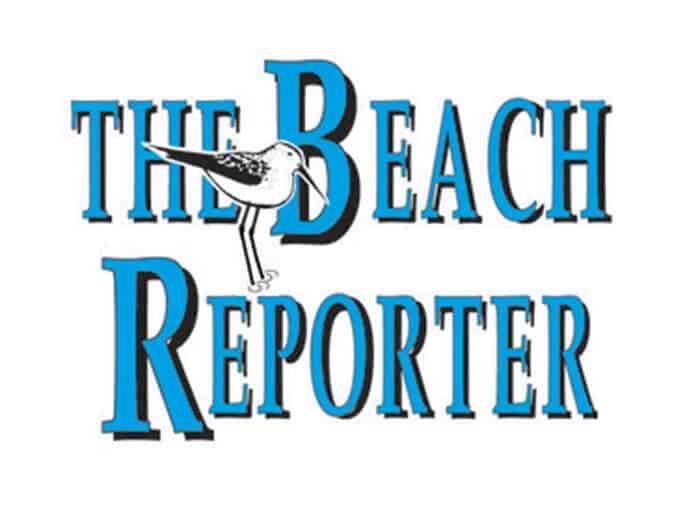 Logo of The Beach Reporter newspaper