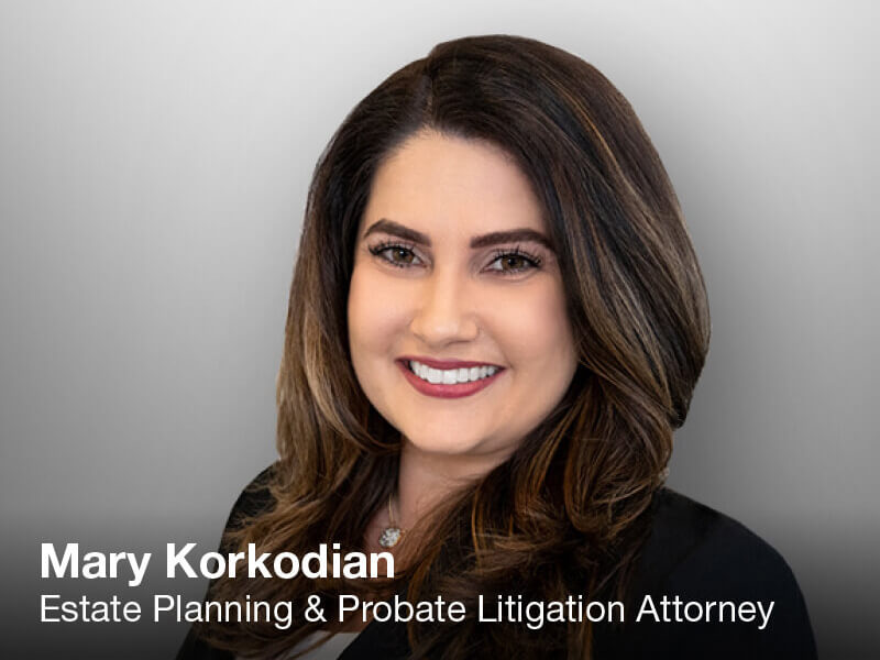 Mary Korkodian, woman attorney
